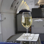 Why wine tastes different on a plane