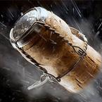 Champagne cork forces emergency landing